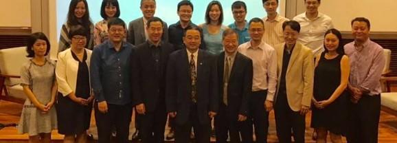 校友会主办「新加坡创业者沙龙」